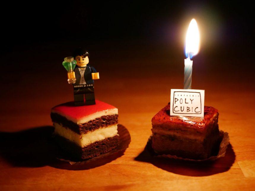 Joyeux anniversaire Polycubic !